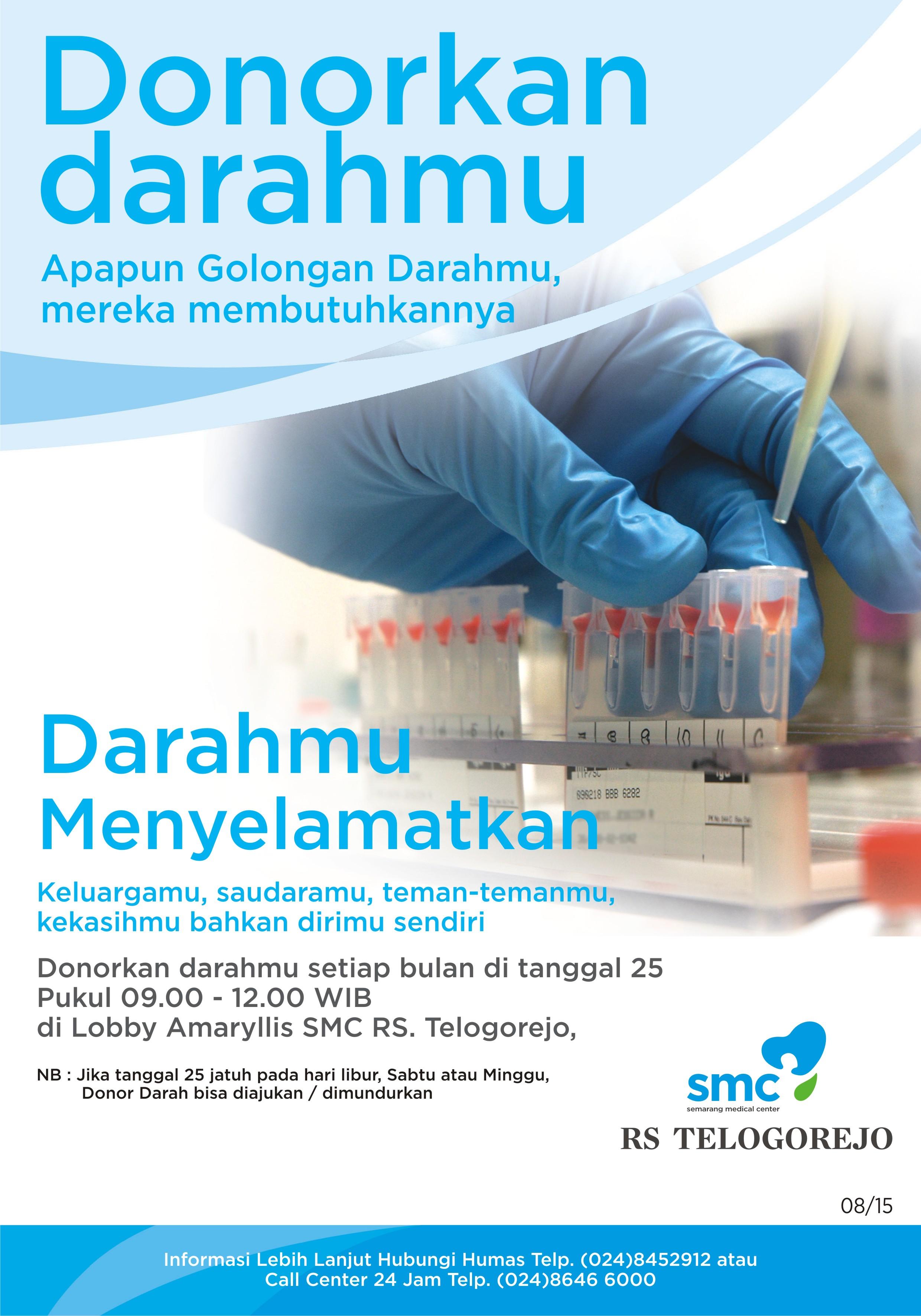 Poster Donor Darah