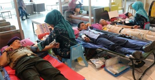 Donor Darah bersama Alumni Resimen Mahasiswa